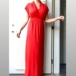 NWT French Connection Tie Back Maxi Dress Size 6